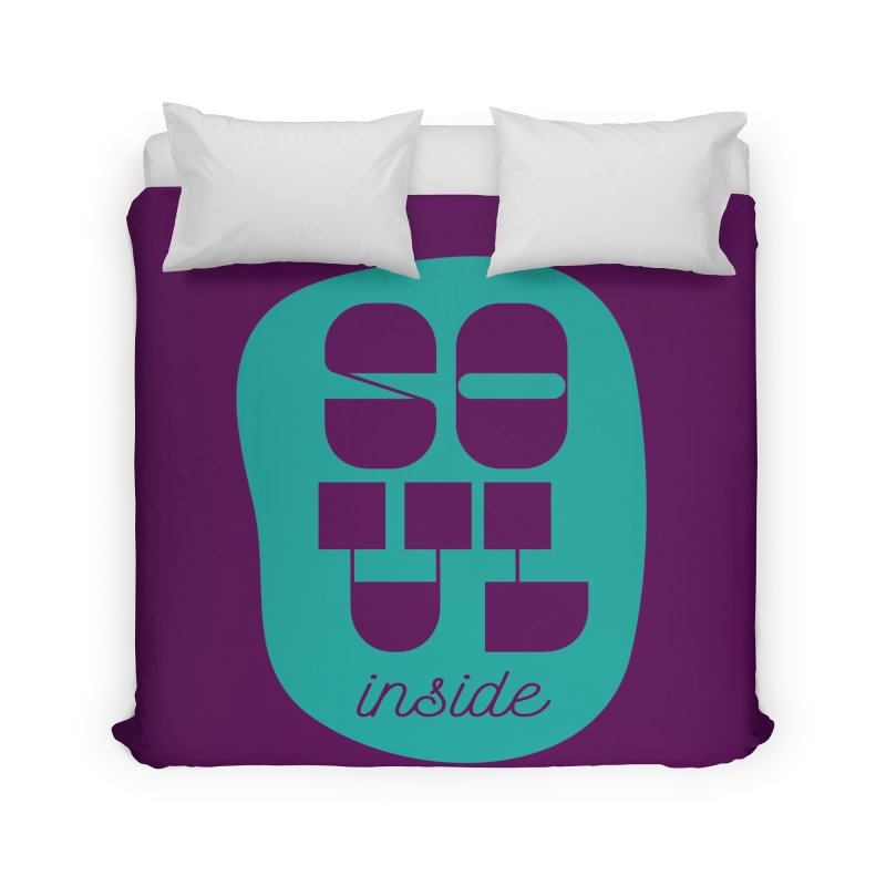 Soul (is) inside (you) Home Duvet by grzechotnick's Artist Shop