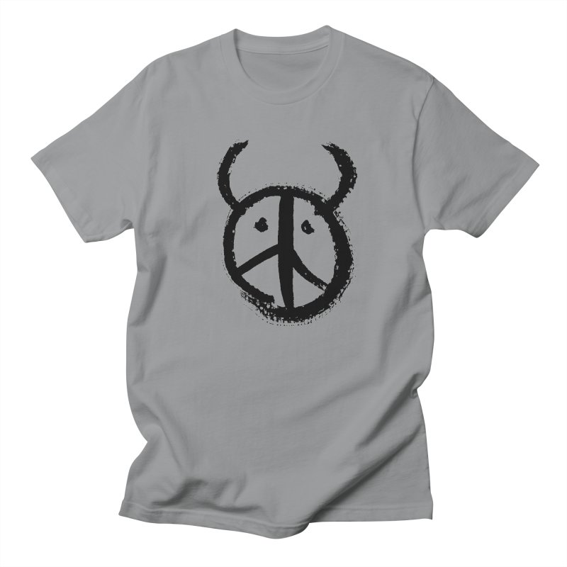 Horned Peace Men's T-Shirt by grzechotnick's Artist Shop
