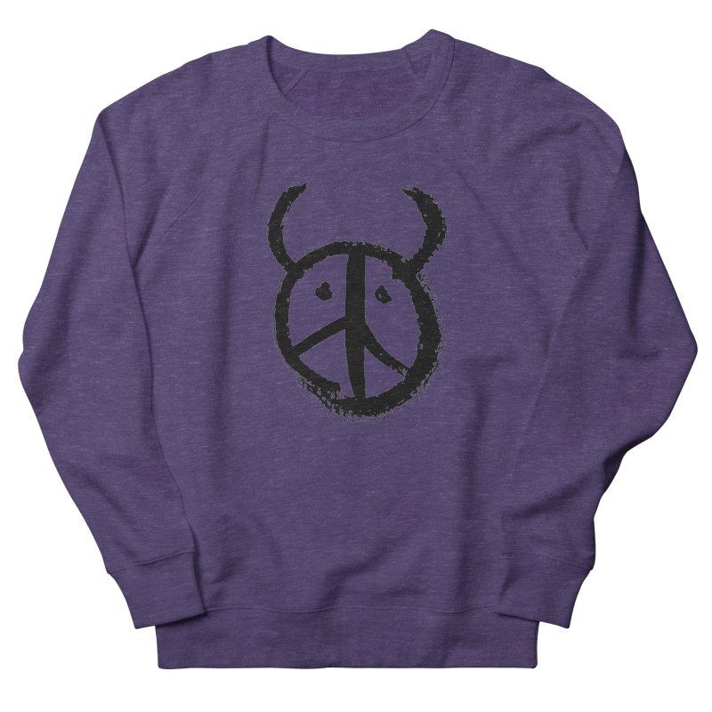 Horned Peace Women's Sweatshirt by grzechotnick's Artist Shop