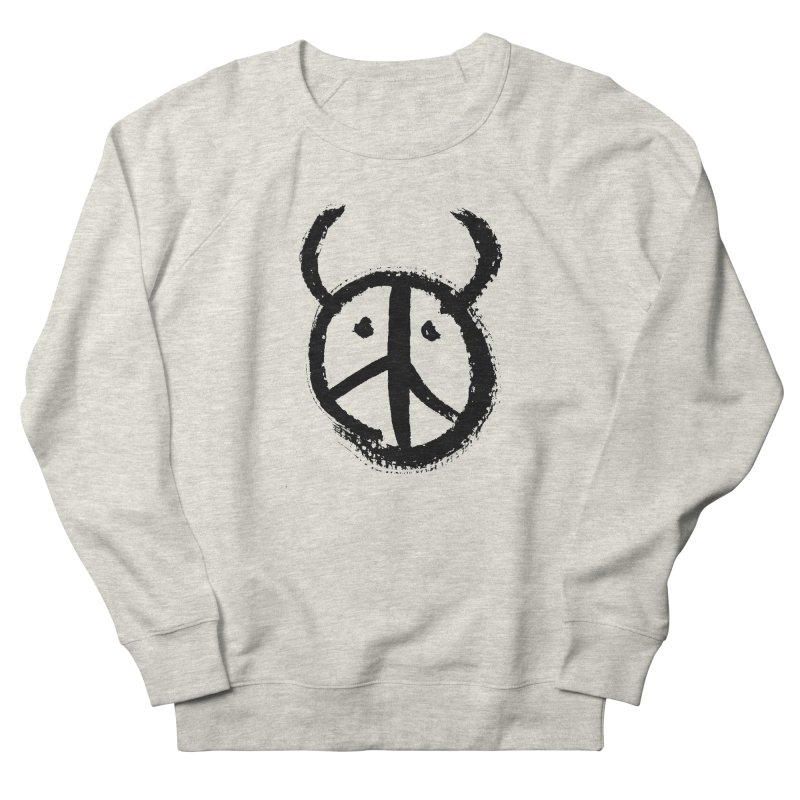 Horned Peace Men's Sweatshirt by grzechotnick's Artist Shop