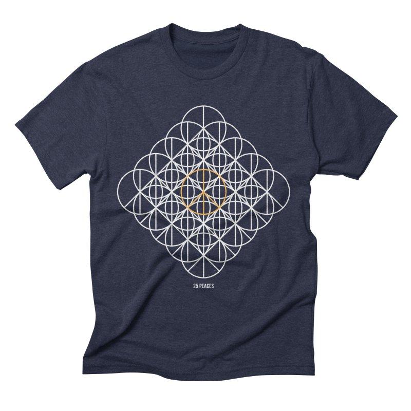 24 peaces + 1 Men's Triblend T-shirt by grzechotnick's Artist Shop