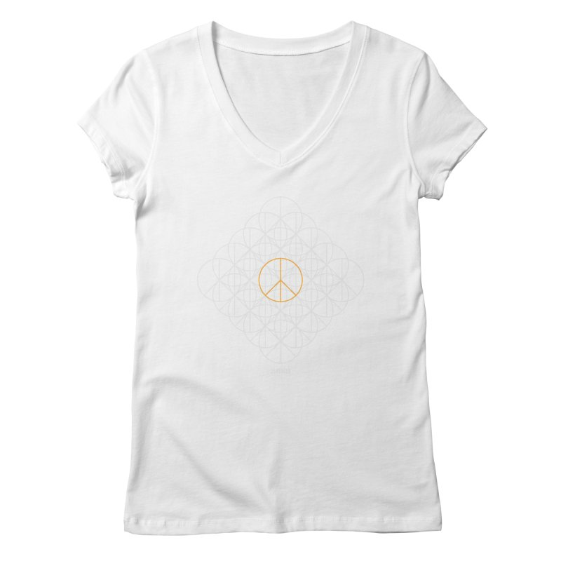 24 peaces + 1 Women's Regular V-Neck by grzechotnick's Artist Shop