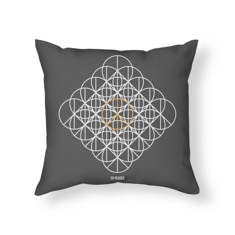 24 peaces + 1 Home Throw Pillow by grzechotnick's Artist Shop