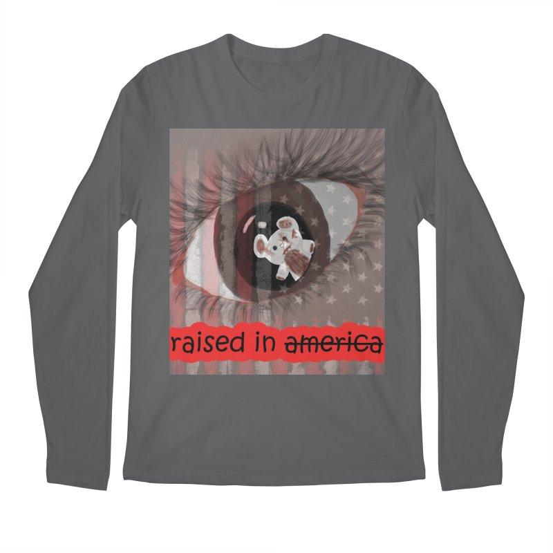 Raised In America Men's Longsleeve T-Shirt by G Slade : Official Merchandise