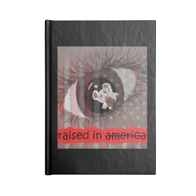 Raised In America Accessories Notebook by G Slade : Official Merchandise