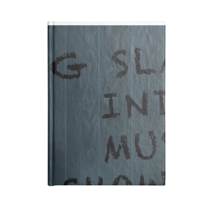 G Slade Show Logo Accessories Notebook by G Slade : Official Merchandise