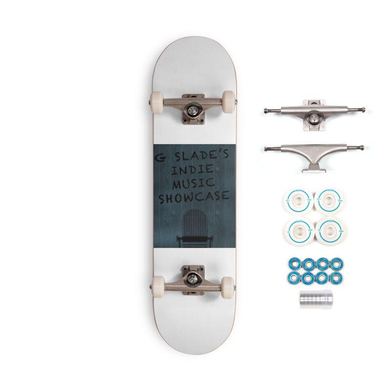 G Slade Show Logo Accessories Skateboard by G Slade : Official Merchandise