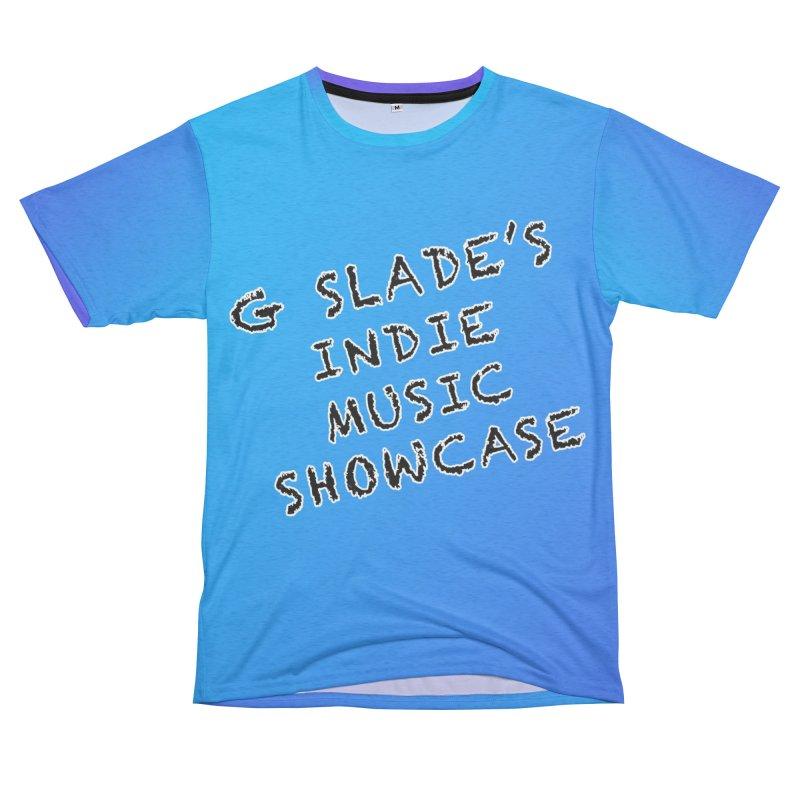G Slade Show - Blue Gradient Men's Cut & Sew by G Slade : Official Merchandise