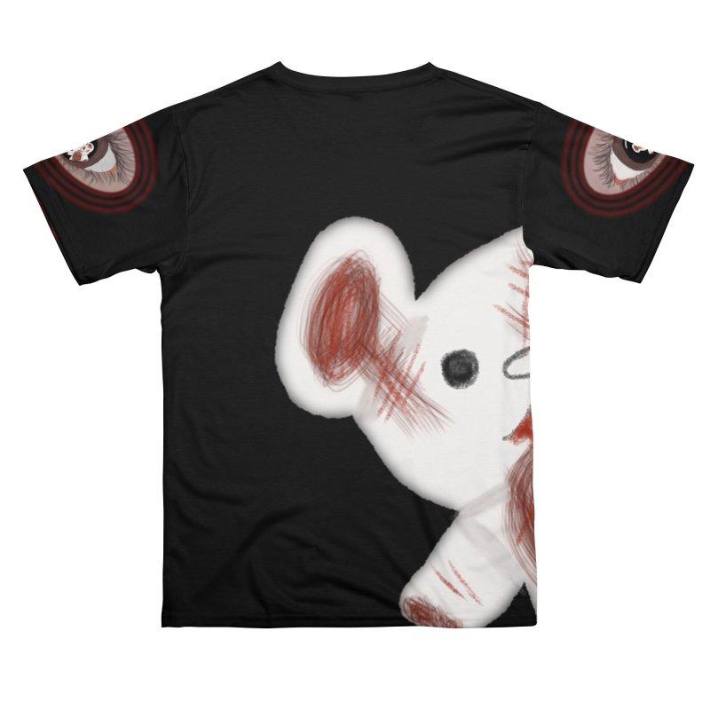 Raised In America - Eyeball Bear Tee Men's Cut & Sew by G Slade : Official Merchandise