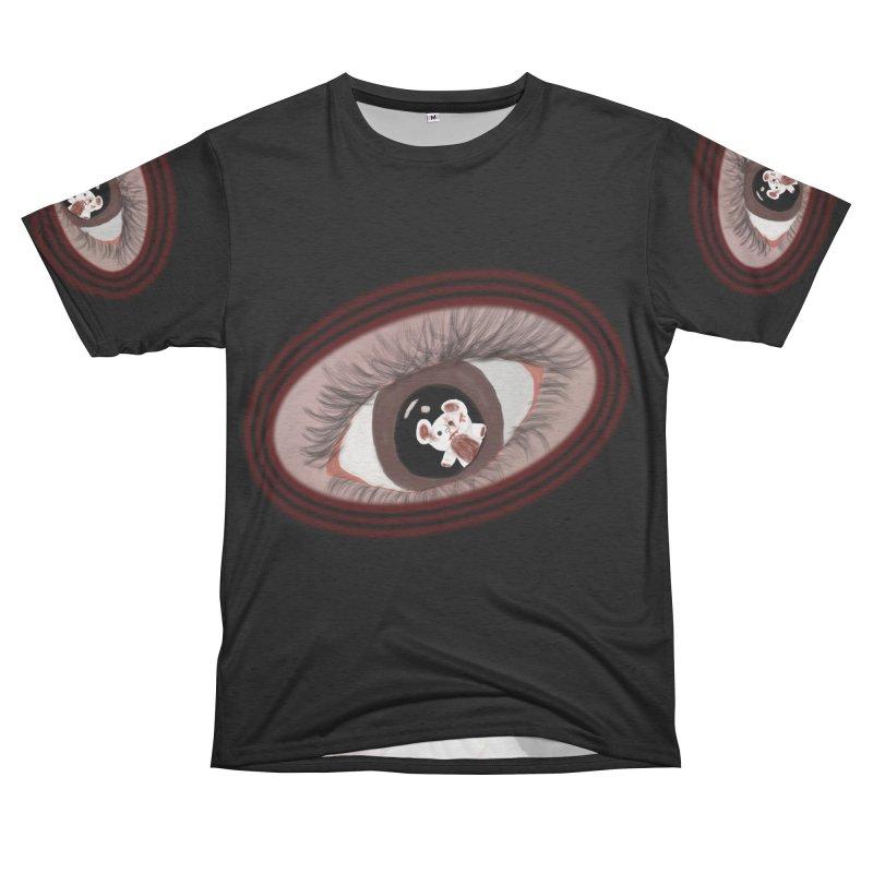 Raised In America - Eyeball Bear Tee Women's Cut & Sew by G Slade : Official Merchandise