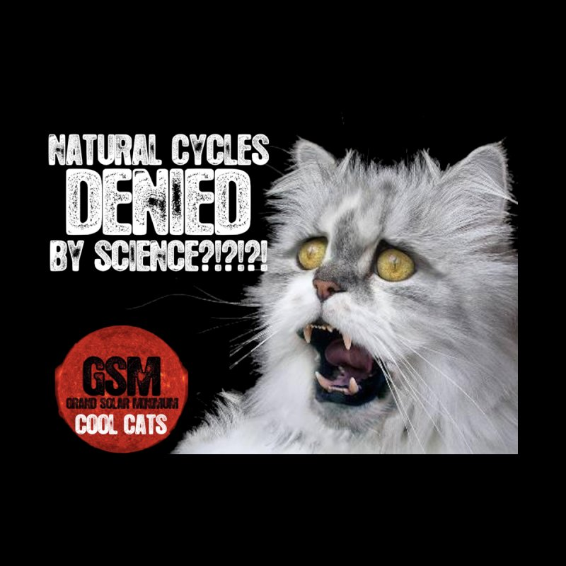 Natural Cycles Cool Cat -Global Cooling Cats by Supporting The Grand Solar Minimum