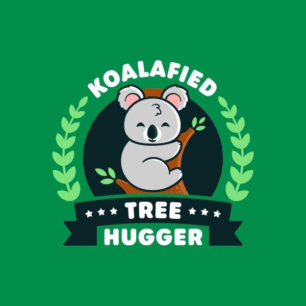 image for Koalafied Tree Hugger - Cute Koala Pun