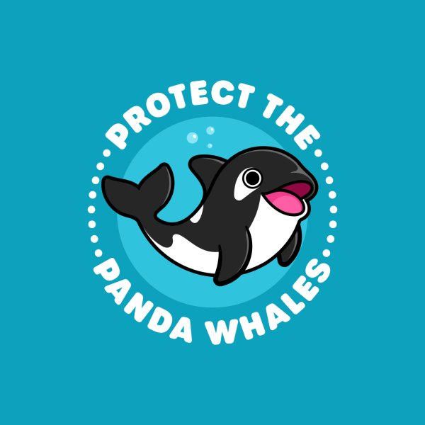 image for Protect the Panda Whales - Cute Orca (Killer Whale)