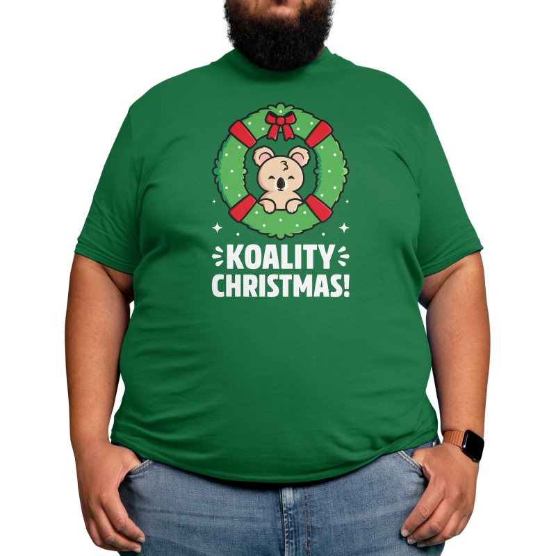 Hope You Have a Koality Christmas Men's T-Shirt by Gudland Design