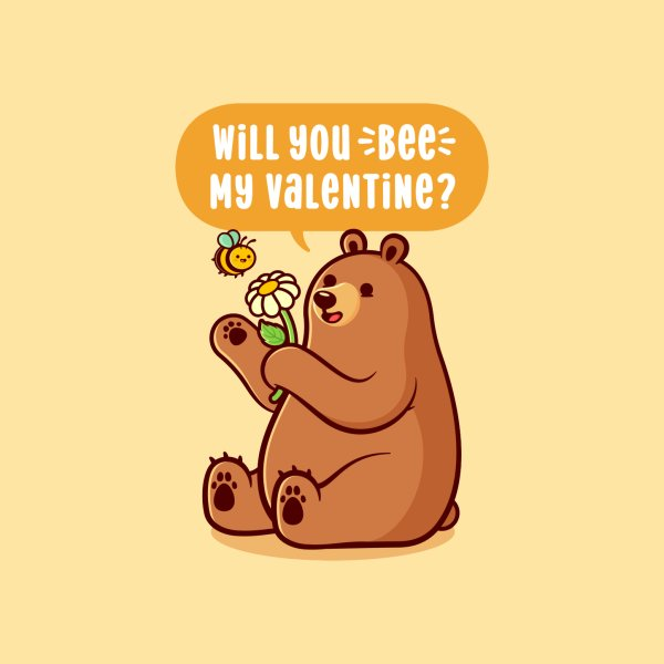 Design for Will You Bee My Valentine?