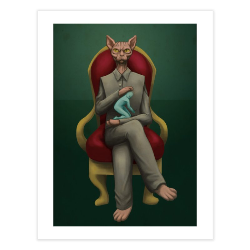 Villain Home Fine Art Print by Guilherme Garcia's Artist Shop