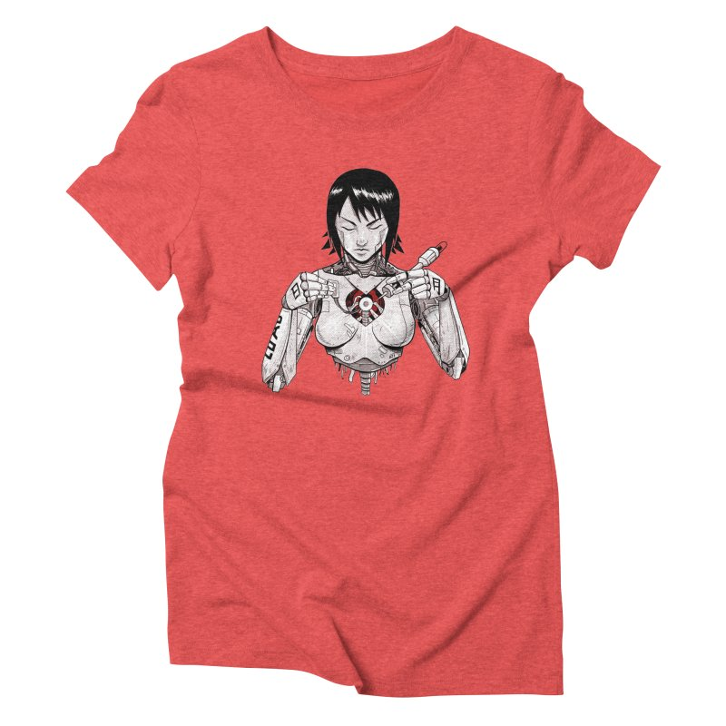 Hagane no Kokoro Women's Triblend T-shirt by Guilherme Garcia's Artist Shop
