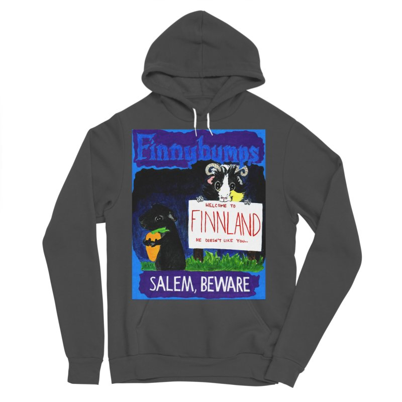 Finnybumps - Salem, Beware Men's Sponge Fleece Pullover Hoody by Guinea Pigs and Books