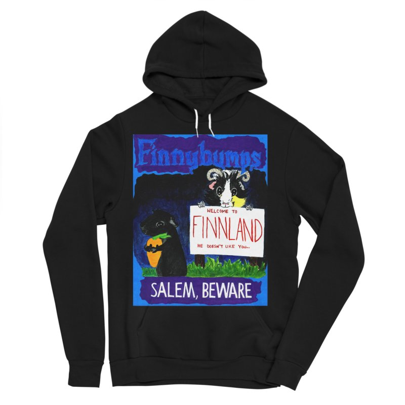 Finnybumps - Salem, Beware Women's Sponge Fleece Pullover Hoody by Guinea Pigs and Books