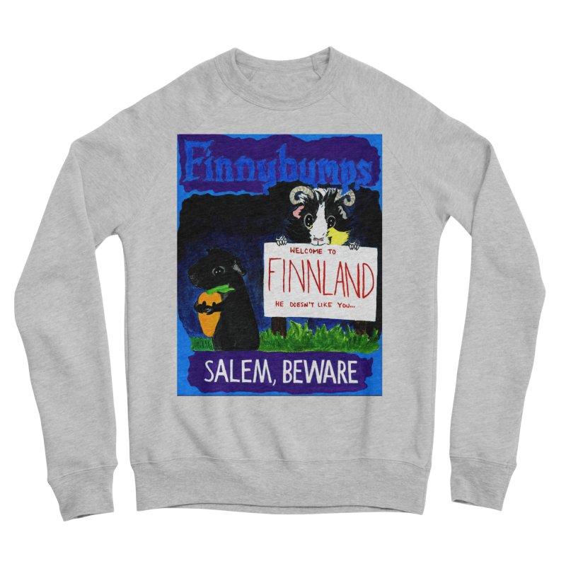Finnybumps - Salem, Beware Women's Sponge Fleece Sweatshirt by Guinea Pigs and Books