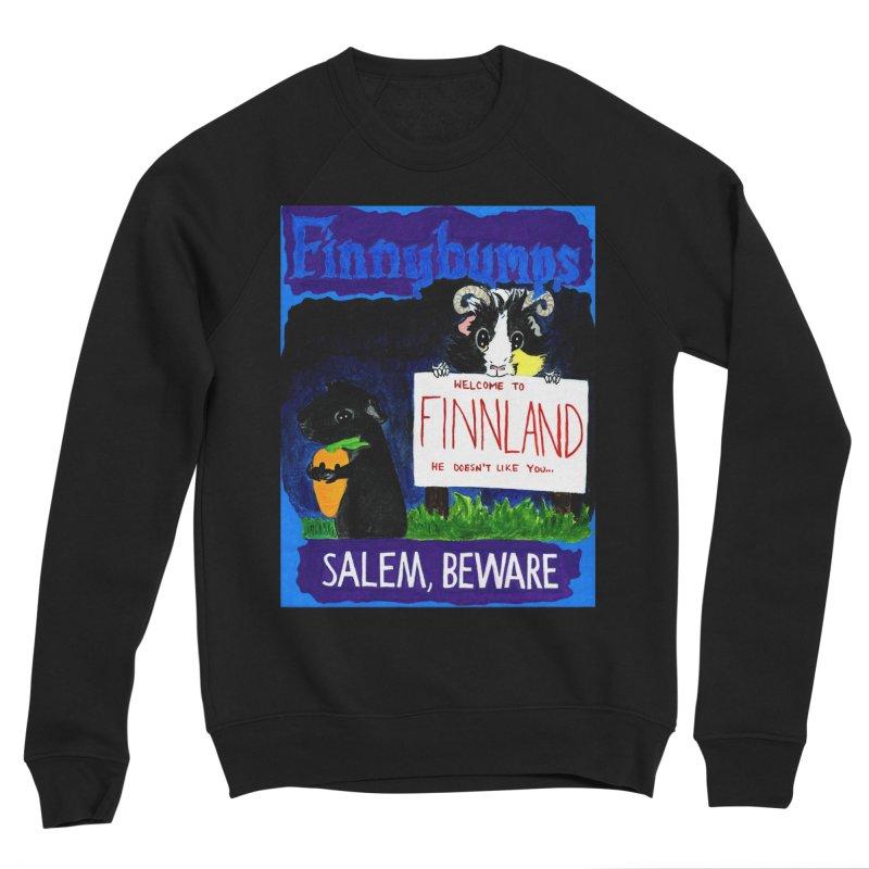 Finnybumps - Salem, Beware Men's Sponge Fleece Sweatshirt by Guinea Pigs and Books