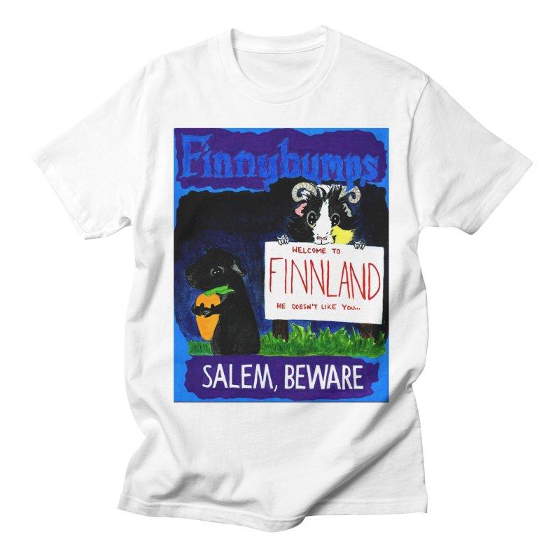 Finnybumps - Salem, Beware Women's Regular Unisex T-Shirt by Guinea Pigs and Books