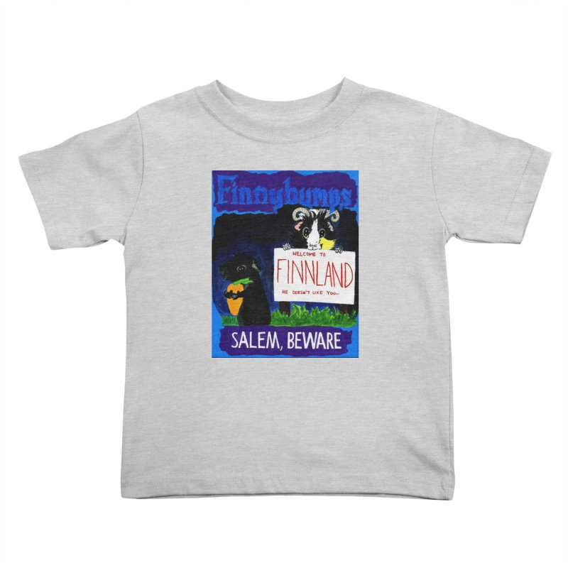 Finnybumps - Salem, Beware Kids Toddler T-Shirt by Guinea Pigs and Books
