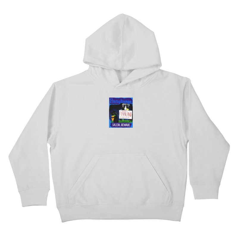 Finnybumps - Salem, Beware Kids Pullover Hoody by Guinea Pigs and Books