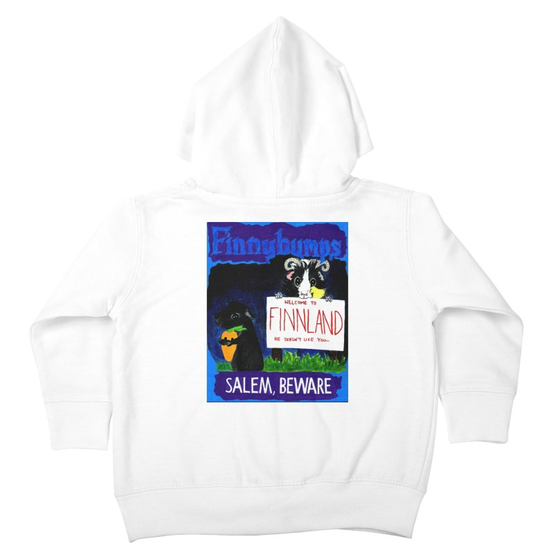 Finnybumps - Salem, Beware Kids Toddler Zip-Up Hoody by Guinea Pigs and Books