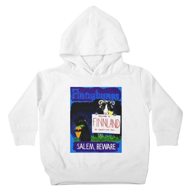 Finnybumps - Salem, Beware Kids Toddler Pullover Hoody by Guinea Pigs and Books