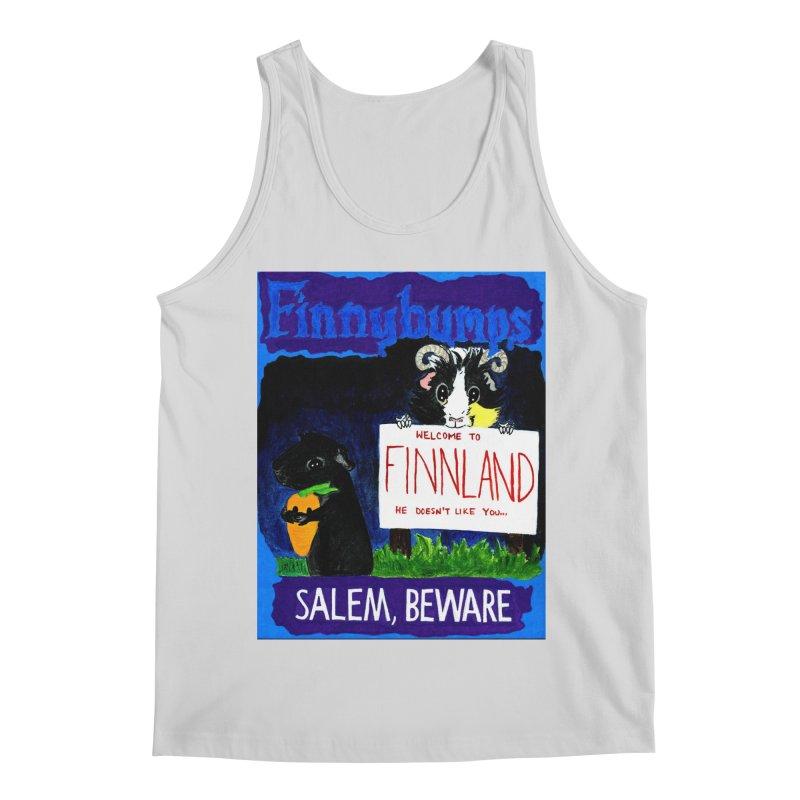 Finnybumps - Salem, Beware Men's Regular Tank by Guinea Pigs and Books