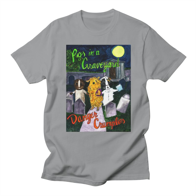 Pigs in a Graveyard Men's Regular T-Shirt by Guinea Pigs and Books