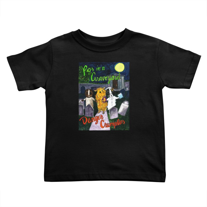 Pigs in a Graveyard Kids Toddler T-Shirt by Guinea Pigs and Books