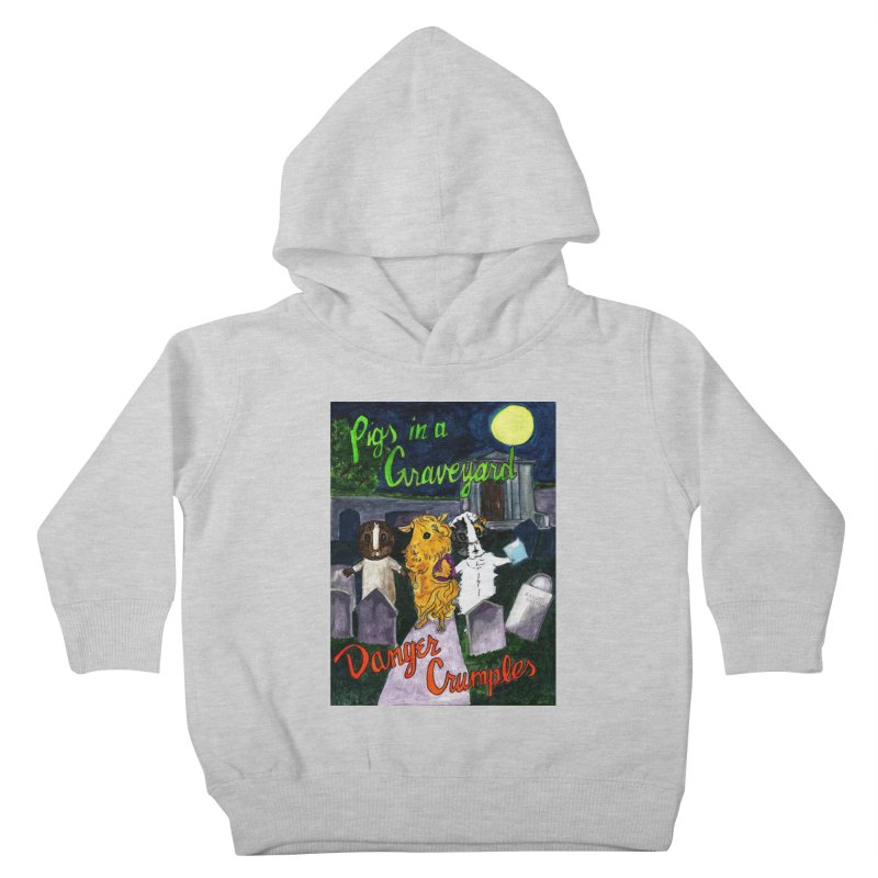 Pigs in a Graveyard Kids Toddler Pullover Hoody by Guinea Pigs and Books