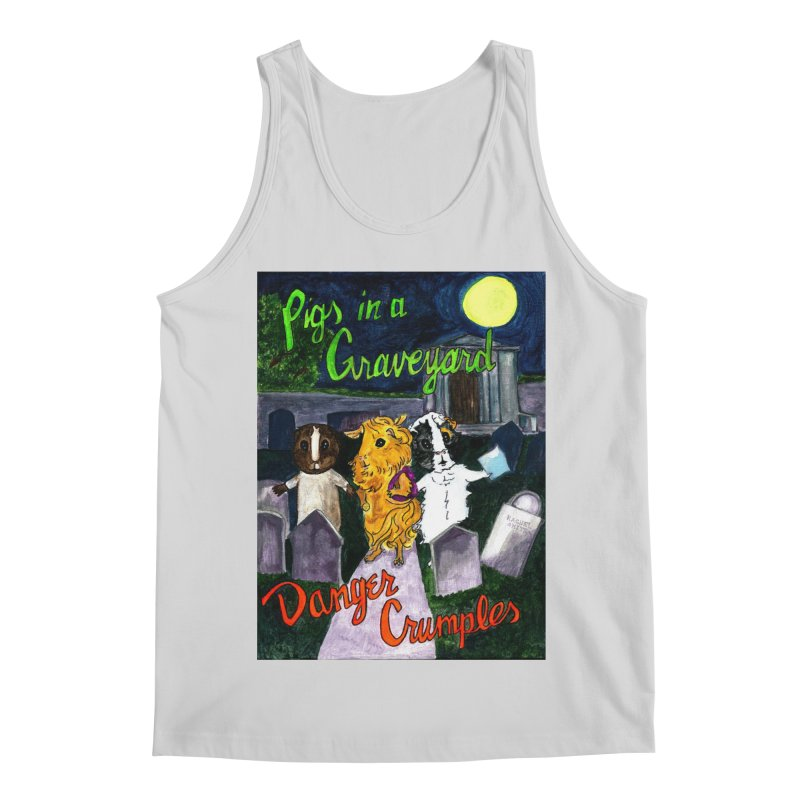 Pigs in a Graveyard Men's Regular Tank by Guinea Pigs and Books