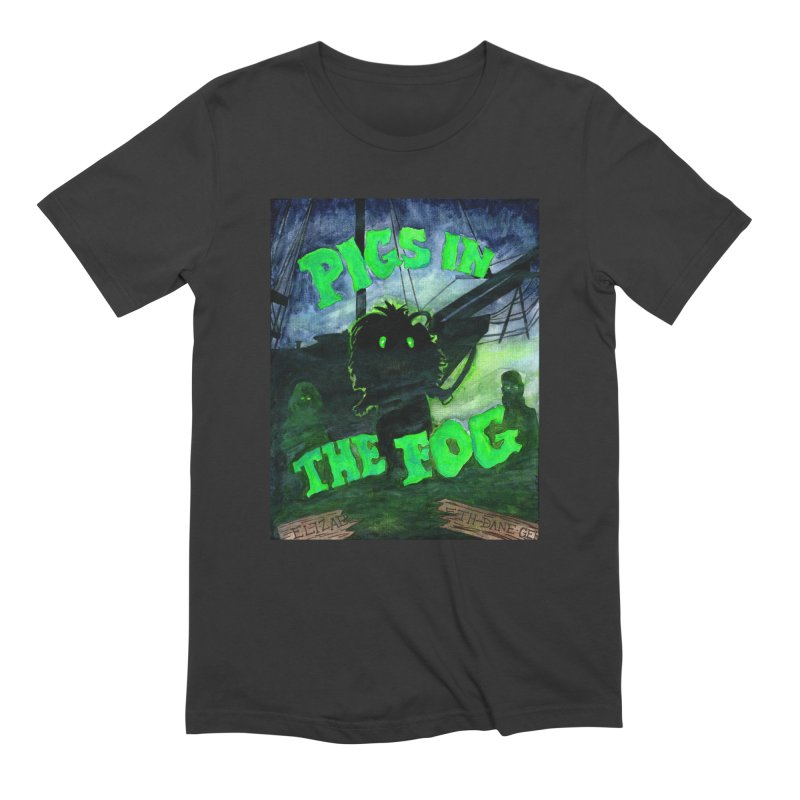 Pigs in the Fog Men's Extra Soft T-Shirt by Guinea Pigs and Books