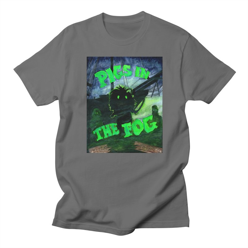 Pigs in the Fog Women's Regular Unisex T-Shirt by Guinea Pigs and Books