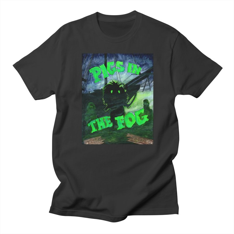 Pigs in the Fog Men's Regular T-Shirt by Guinea Pigs and Books
