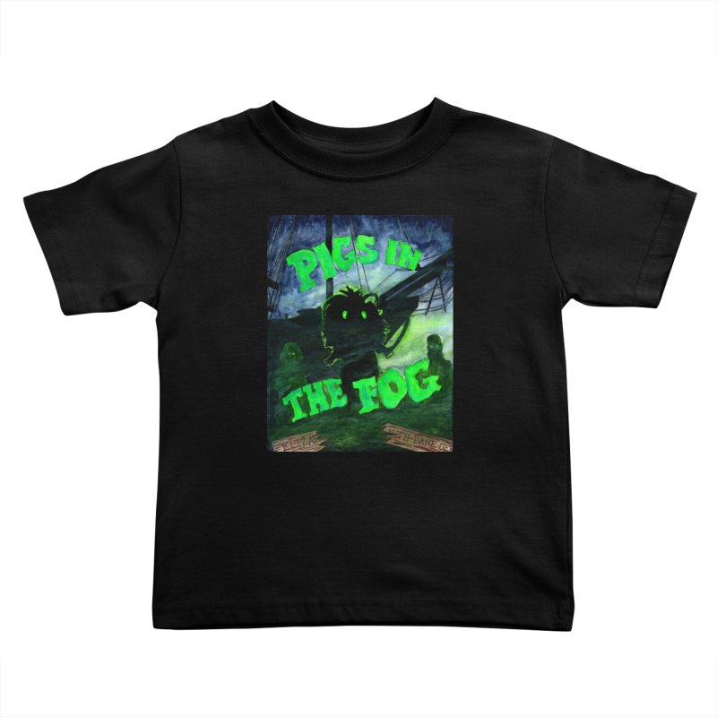Pigs in the Fog Kids Toddler T-Shirt by Guinea Pigs and Books