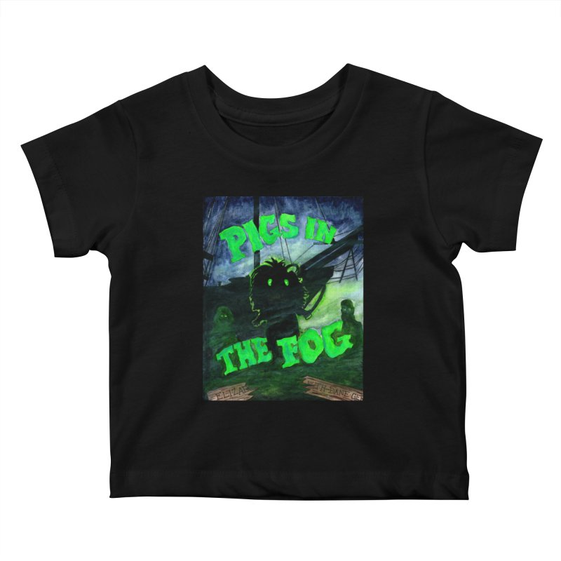 Pigs in the Fog Kids Baby T-Shirt by Guinea Pigs and Books