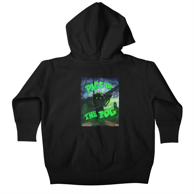 Pigs in the Fog Kids Baby Zip-Up Hoody by Guinea Pigs and Books