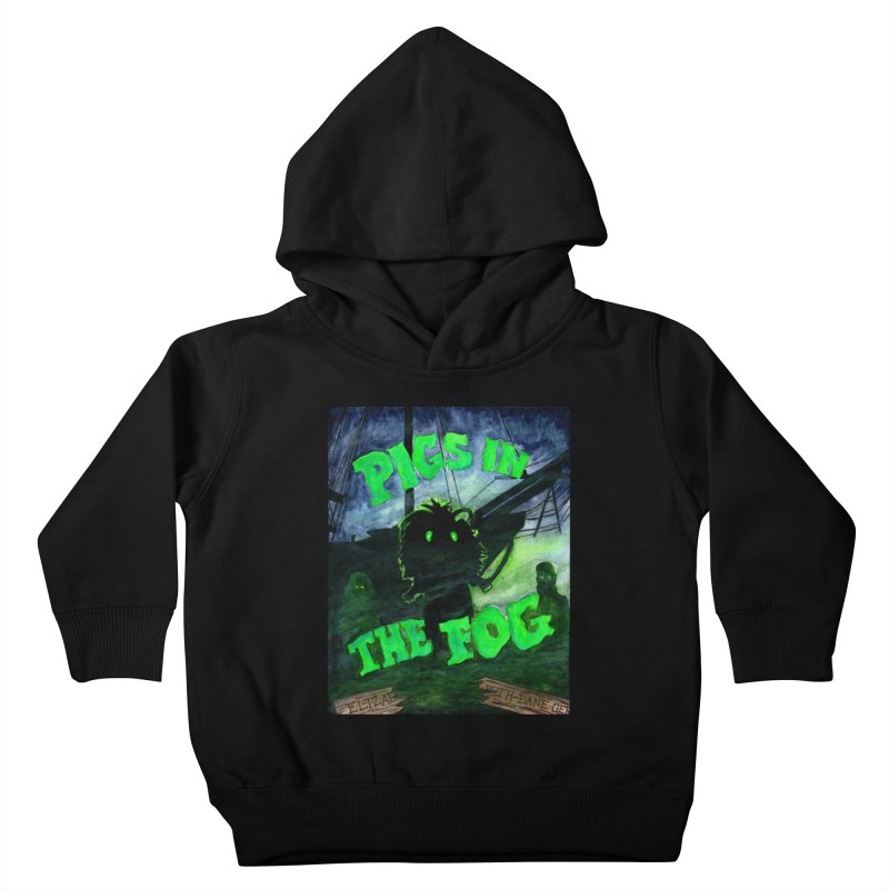 Pigs in the Fog Kids Toddler Pullover Hoody by Guinea Pigs and Books