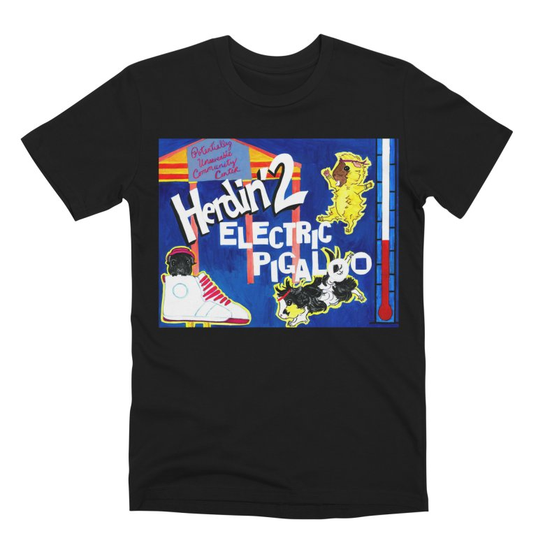 Herdin' 2: Electric Pigaloo Men's Premium T-Shirt by Guinea Pigs and Books