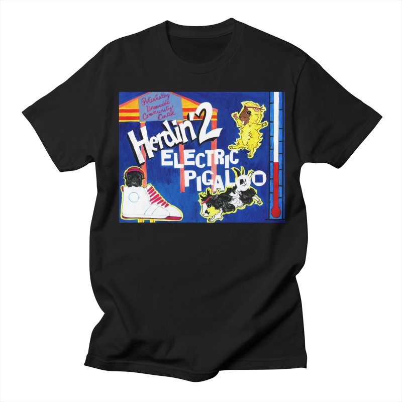 Herdin' 2: Electric Pigaloo Men's Regular T-Shirt by Guinea Pigs and Books