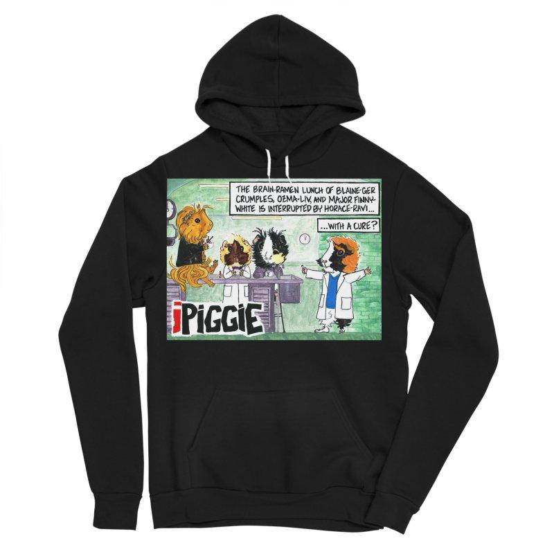 iPiggie Men's Sponge Fleece Pullover Hoody by Guinea Pigs and Books