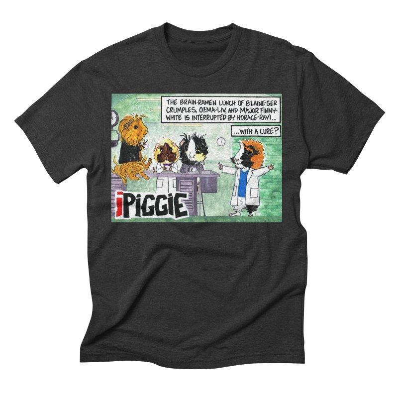 iPiggie Men's Triblend T-Shirt by Guinea Pigs and Books