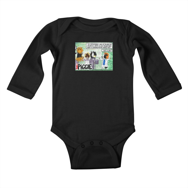 iPiggie Kids Baby Longsleeve Bodysuit by Guinea Pigs and Books