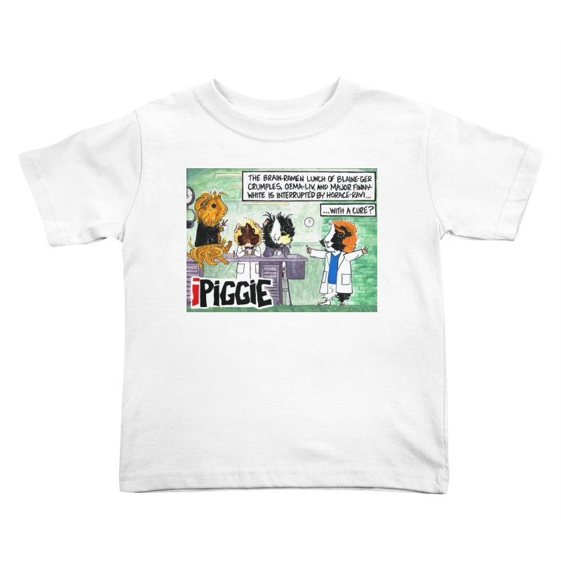 iPiggie Kids Toddler T-Shirt by Guinea Pigs and Books