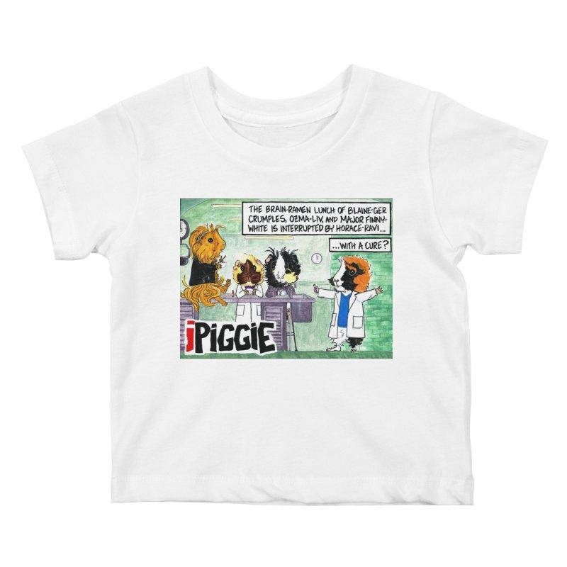 iPiggie Kids Baby T-Shirt by Guinea Pigs and Books
