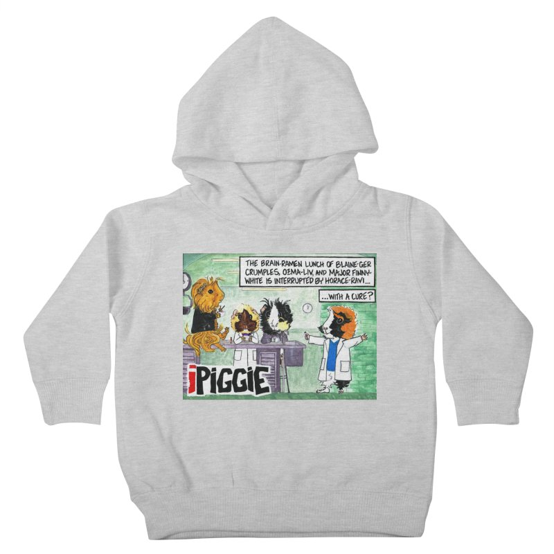 iPiggie Kids Toddler Pullover Hoody by Guinea Pigs and Books